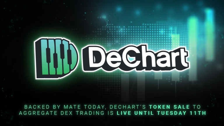 backed by mate tokay decharts token sale to aggregate dex trading is live until tuesday 11th