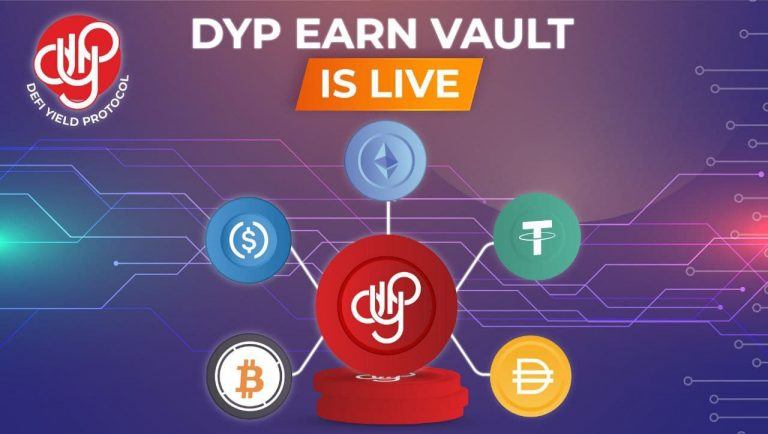 defi yield protocol dyp launches dyp earn vault