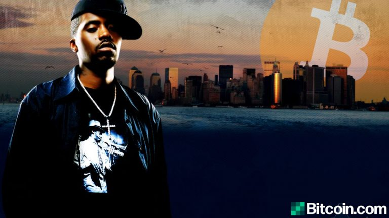 hip hop star nas calls himself cryptocurrency scarface mentions coinbase investment in new video