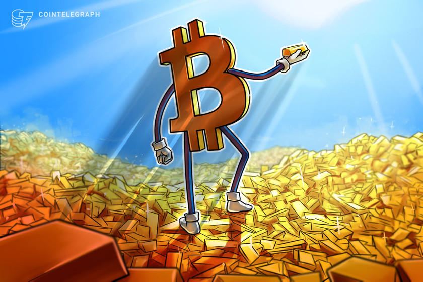 bitcoin in uptrend but btc may never beat golds 10t market cap ex nyse head