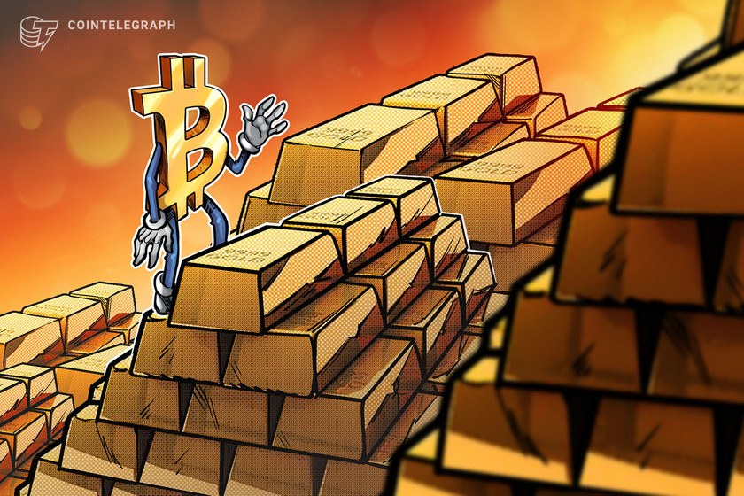 bitcoin sell off likely played a key role in boosting golds appeal