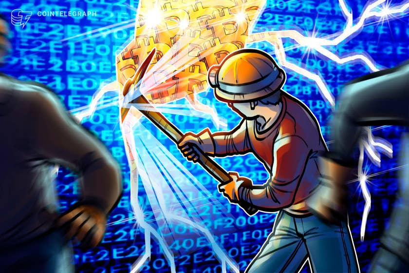 miners have accumulated 600m worth of bitcoin since feb